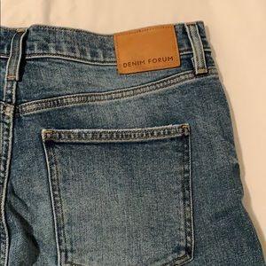 Aritzia's Denim Forum-Yoko high waisted slim jean